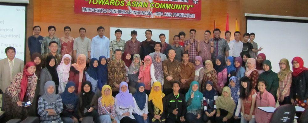2014インドネシア教育大学